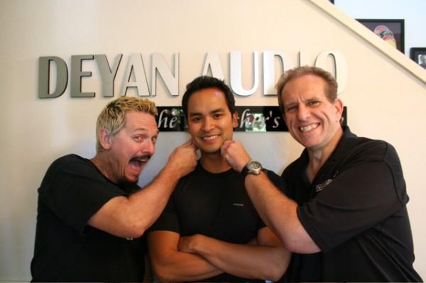 Me, Ramon De Ocampo, Bob Deyan