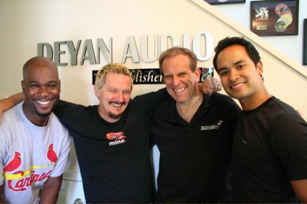 JD Jackson, me, Bob Deyan, Ramon De Ocampo. Damn, I'm short.