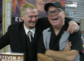 With Ken Mitchroney, my buddy pal!